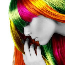 Color Changer Booth For Hair -  Change Hair Color and Style Them