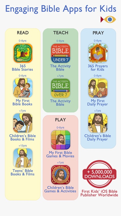 Children's Bible Games for Kids, Family and School screenshot-4