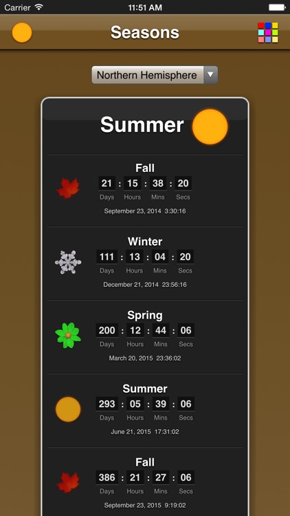 Seasons App screenshot-2