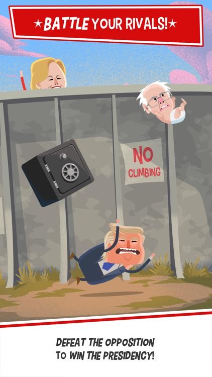 Candidate Crunch: Donald Trump vs Hillary Clinton vs Bernie - Funny Election Game