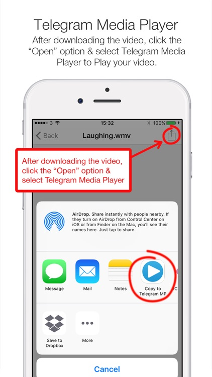 Telegram Player PRO - Media Player for Telegram Messenger screenshot-4