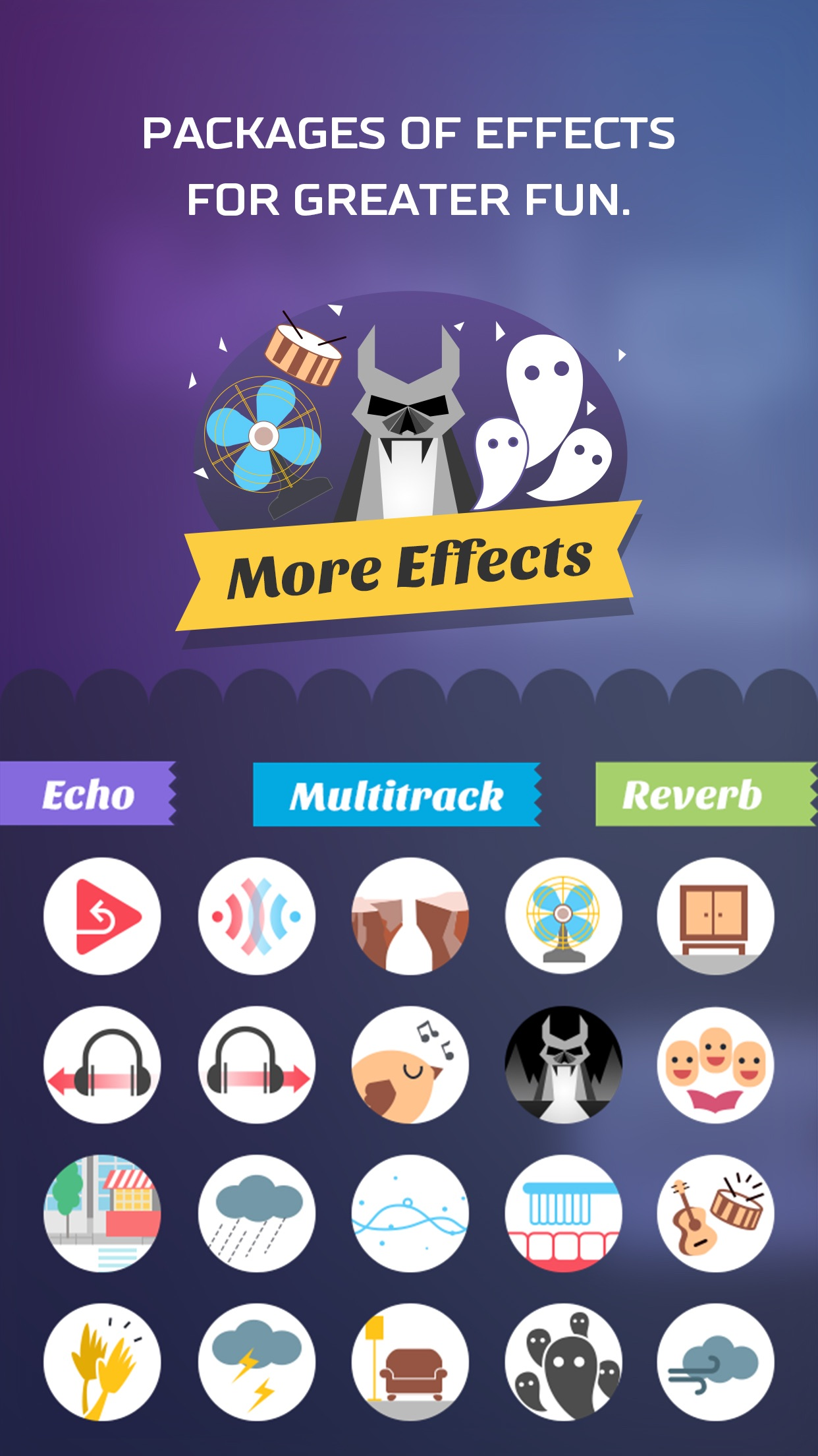 Voice Changer App – Funny SoundBoard Effects Screenshot
