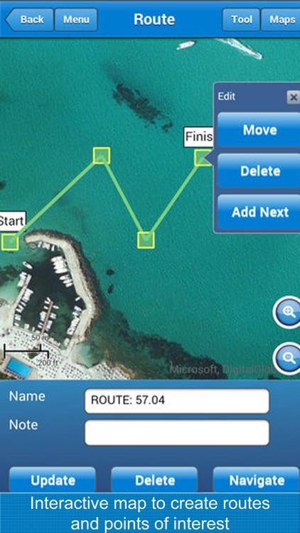 Marine Navigation Lite screenshot-3