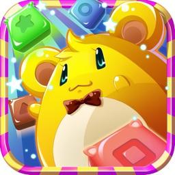 星星消灭休闲版-最Q的最好玩的方块连连看,有趣创意的爱消除手机游戏