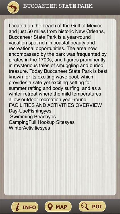 Mississippi State Parks & National Park Guide screenshot-3