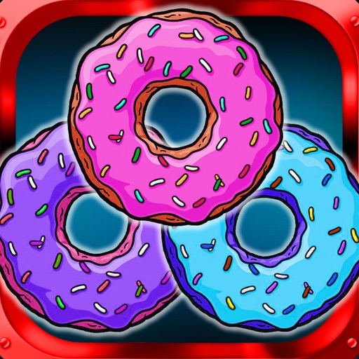 A Super Explosion Of Donuts And Flavors - Fusion Color Scheme