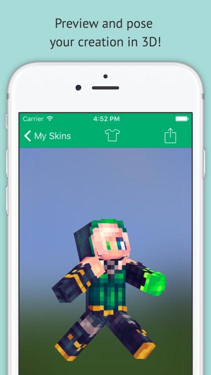 Skin Editor: Minecraft Creator Edition screenshot-3