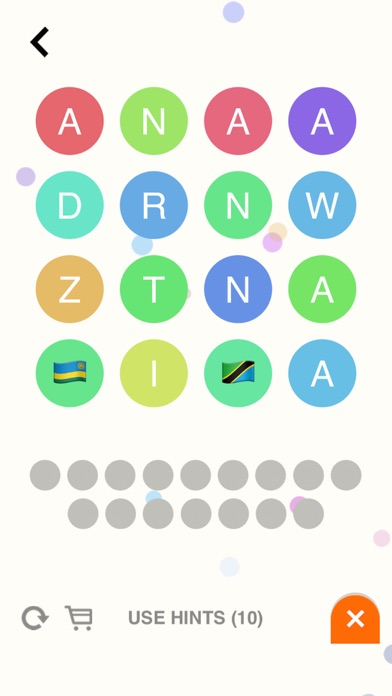 Flagbubbles! - Country Flag Word Whizzle Ruzzle Bubble Games-1