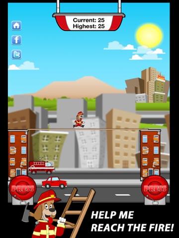 ! Лестница Мания ™ PRO - пожарный спасательной на iPad