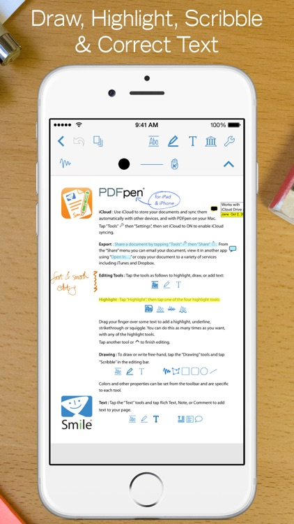 PDFpen 2 - Markup, Edit, Fill & Sign PDF docs screenshot-0