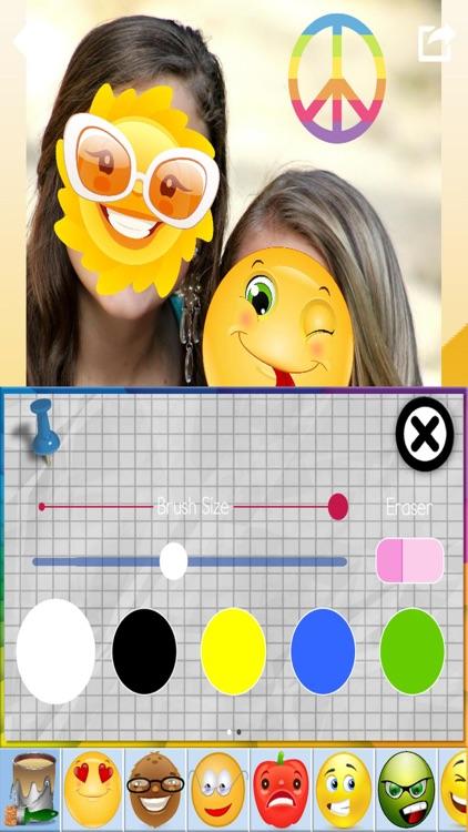 Emoji Photo Stickers & Paint screenshot-3