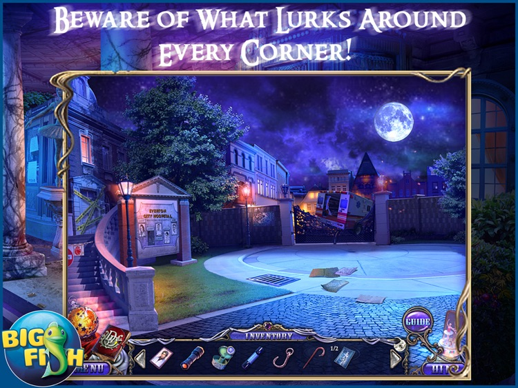 Dark Dimensions: Shadow Pirouette HD - A Scary Hidden Object Game (Full) screenshot-0