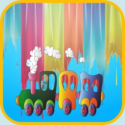trains coloring book - My Apps Colorings Books For Kids Free