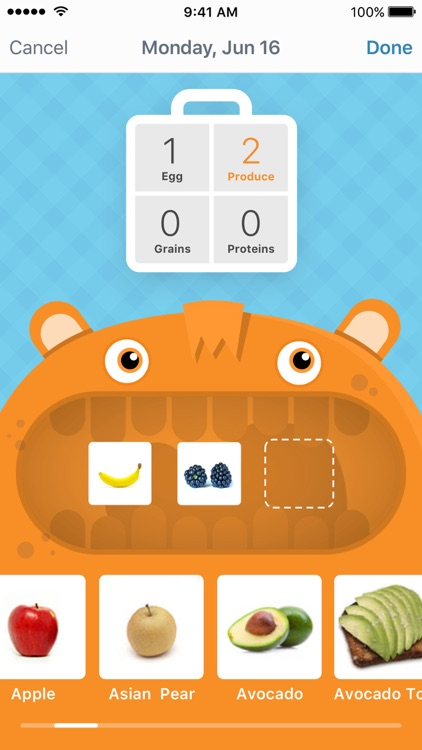 LaLa Breakfast: meal planning for kids screenshot-0