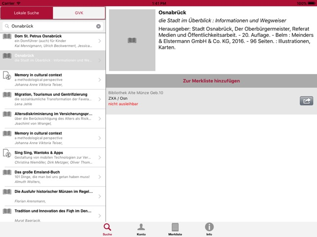 Bibapp Uos On The App Store
