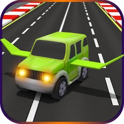 Futuristic Kids Flying Cars - Real Baby Jet Racing Simulator Pro