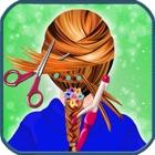 Escuela chicas peinado - maquillaje face magic, cambiador y cabina de estilo de pelo icon