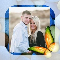 Butterfly Photo Frames - Make awesome photo using beautiful photo frames
