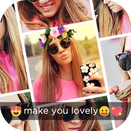 Collage Maker Layout for Instagram - Filters Flower Crown for Snapchat & Snap Doggy Face Swap
