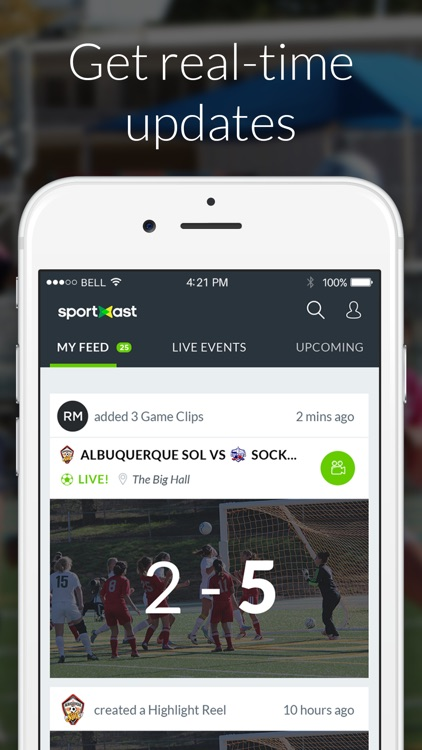 SportXast - Record and Share Sports Video Highlights screenshot-4