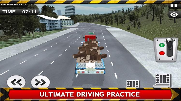 Transport Truck Driver Simulator 3D screenshot-3