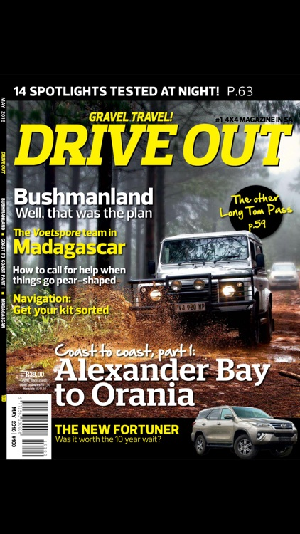Magazine drive out