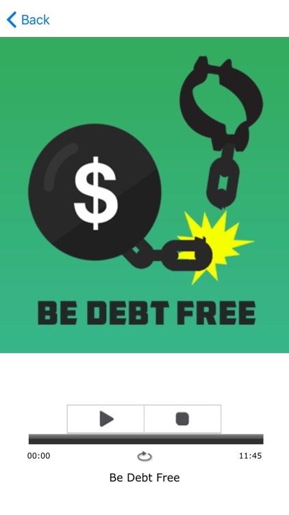 Be Debt Free App
