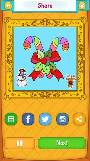 Juletegninger Til Farvelægning I App Store