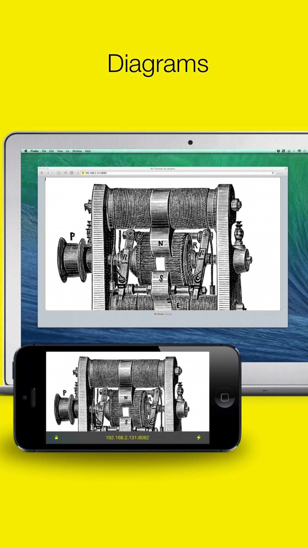 Screenshot do app Air Scanner: Wireless Remote HD Document Camera