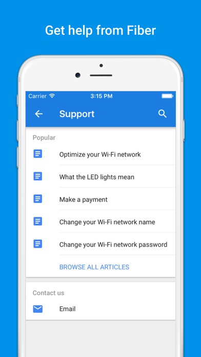 Google Fiber - network and account manager-4