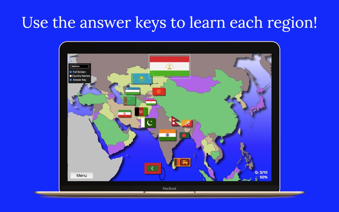Asia Map Quiz Edu Edition - Online Game and Cheat | Ge.com Key Map Of Asian Countries on world map with countries, map of canada, map of taiwan, map of israel, map of africa, map of ukraine, map of middle east, map of world countries, map of thailand, map of united states, map of european, map of alaska, map of mediterranean countries, map of eastern countries, map of norway, map of europe, map of asia, map of cambodia,
