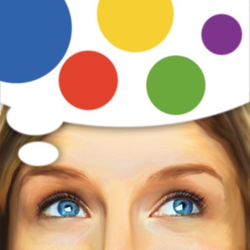 Угадай цвет: тренировка мозга.