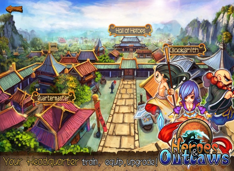 HeroesOutlaws HD: An epic tower defence adventure screenshot-4