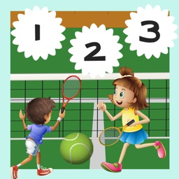 123 Count-ing with Tennis Play-ers! Great Kid-s Games