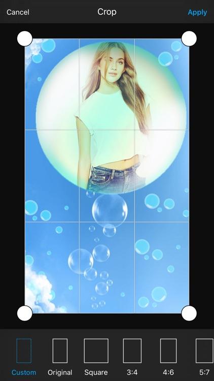 Bubble Photo Frame screenshot-3