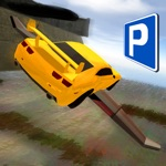 3D Flying Car Parking Simulator: eXtreme Racing, Driving and Flight Game Free
