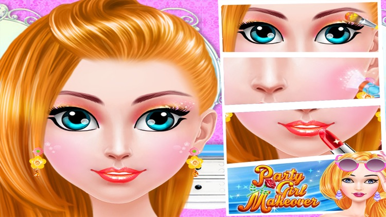Party Girl Makeover - real spa dress up teen games