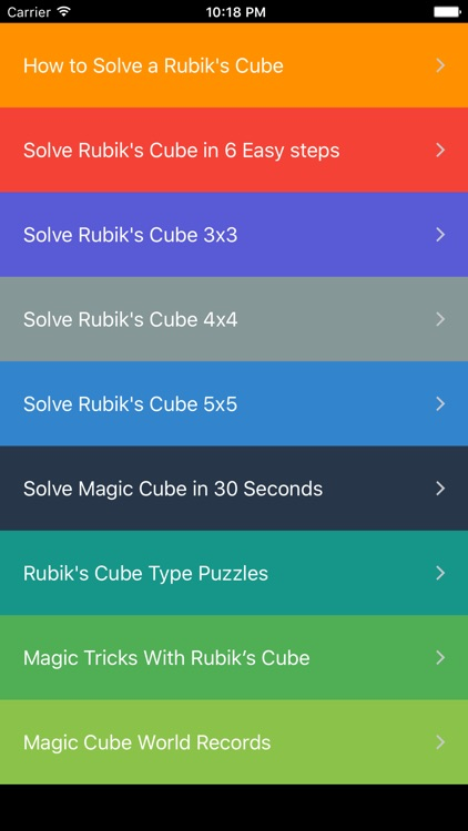 How To Solve A Rubik's Cube screenshot-3