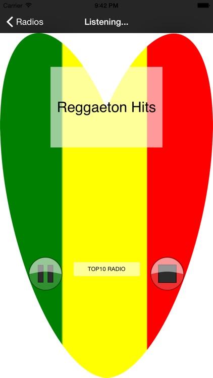 Best Music Reggae - TOP Reggaeton Radio Stations screenshot-3