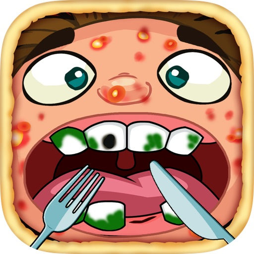 Pizza Face Dentist - Fun Games At The Doctor Office