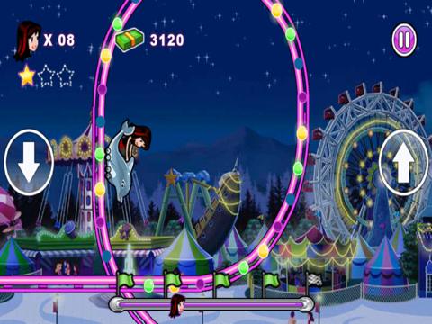 Crazy Roller Coaster Gameのおすすめ画像1