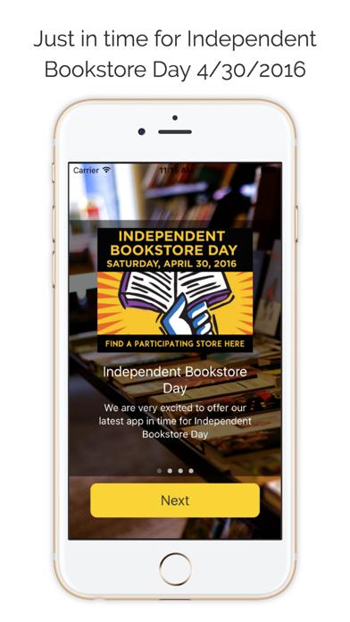 Indie Bookstore Finder Screenshot