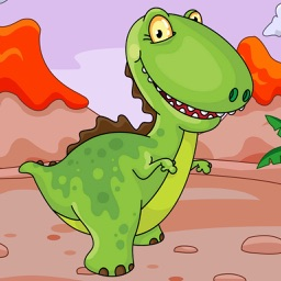 Dinosaur Puzzle Game for Toddlers - Children's puzzle Dinosaur for kids
