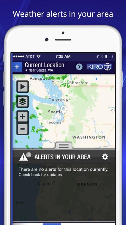 KIRO 7 Weather and Forecasts screenshot-4
