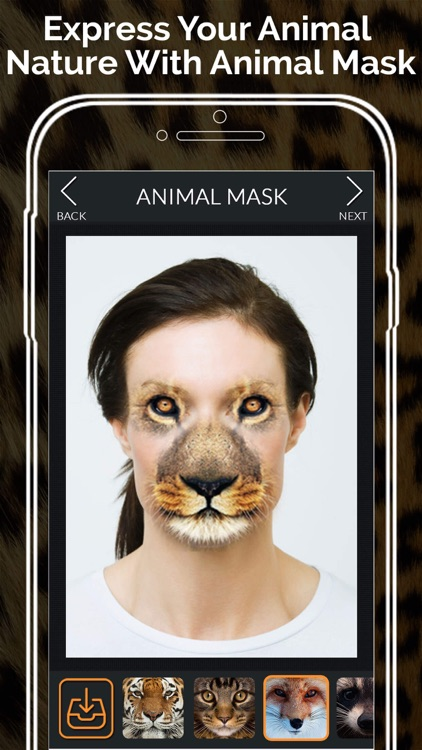 Animal Face Morph - Let Your Wild Side Out screenshot-3