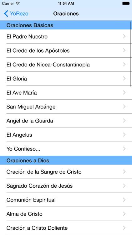 YoRezo - Devocionario Católico screenshot-3