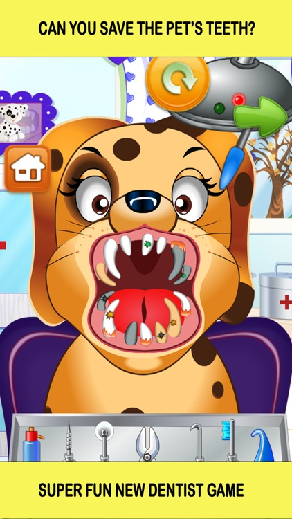 Pet Vet Dentist Doctor - Games for Kids Free screenshot-0