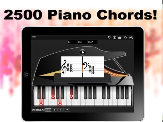 Piano Chords Compass Learn The Chord Notes Play Them App Price