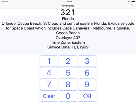646 area code time zone