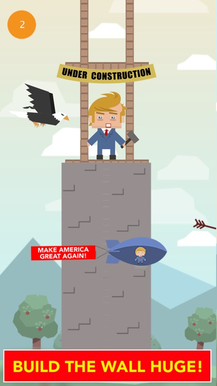 Build Donald Trump's Wall : Challenge
